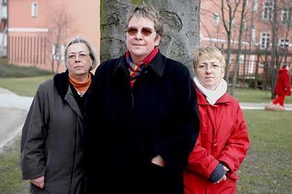 Ausgetretene Peters, Fritsch und Wesolowski (v.l.): Not im Alter