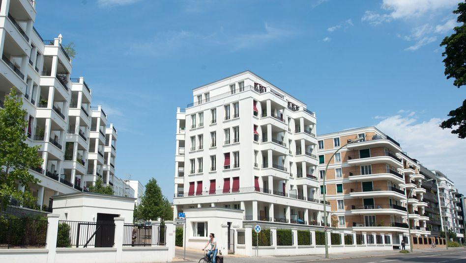 Mehrfamilienhäuser in Berlin (Symbolbild)