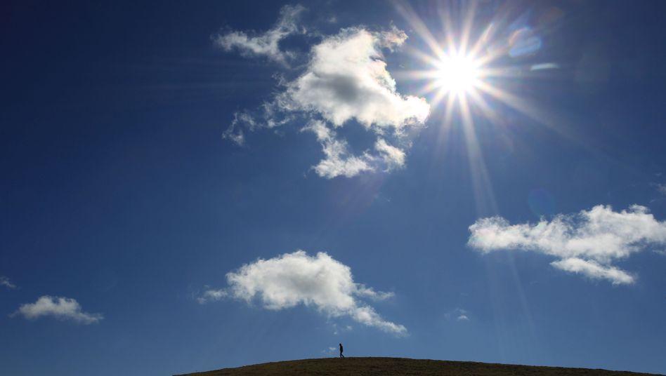Sonne pur: Es kommt darauf an, wie lange man sich in der Sonne aufhält