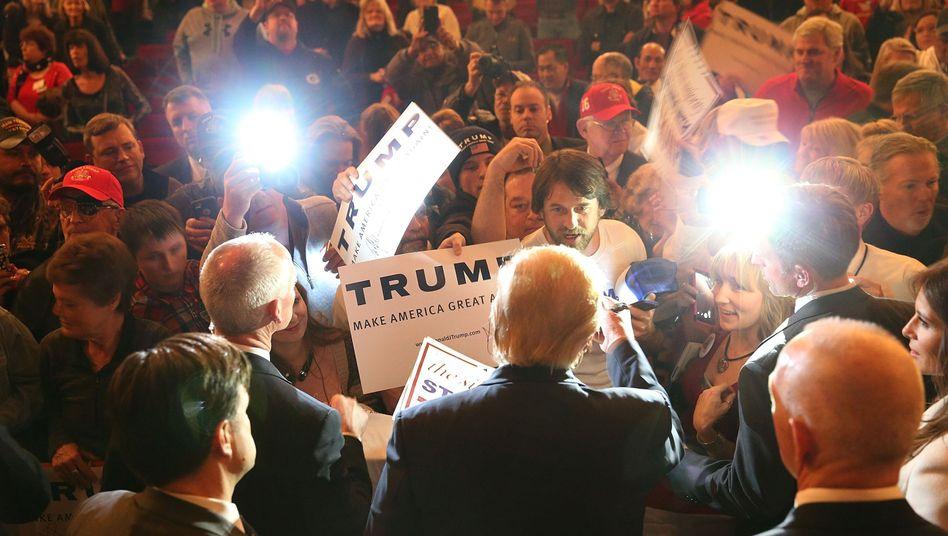 Donald Trump in Sioux City, Iowa: Historische Entscheidungen