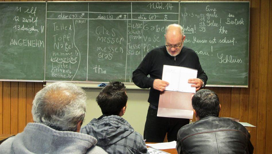 Deutschunterricht für Migranten: Kein Geld für neue Kurse