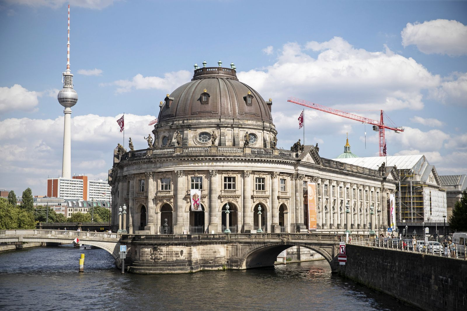 Bode Museum in Berlin am 1 Juli 2019 Bode Museum in Berlin *** Bode Museum in Berlin on 1 July 201