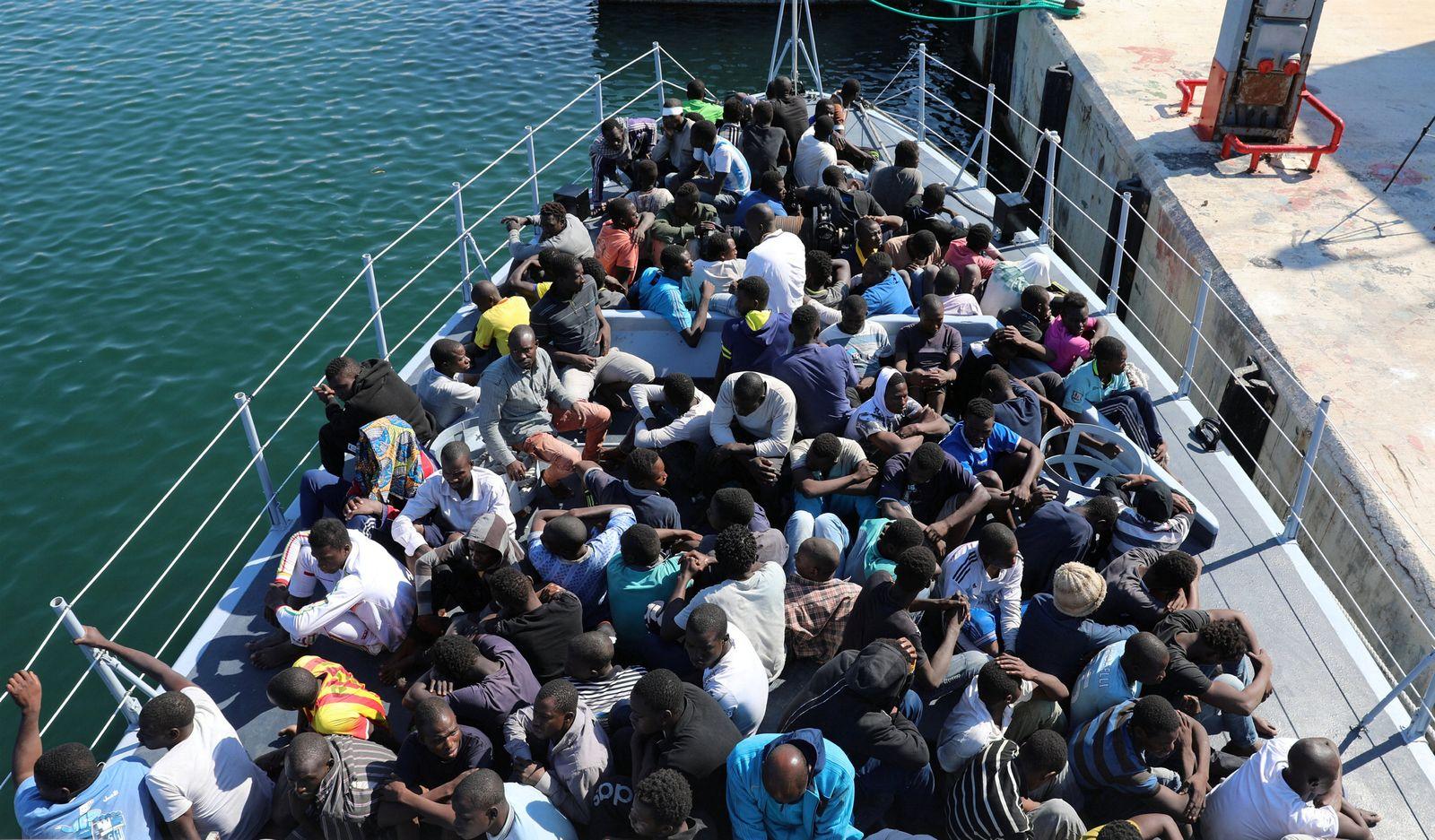Migration Afrika Libyen
