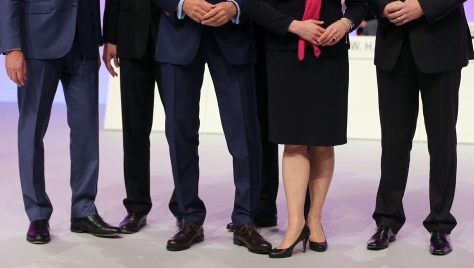 Frauenmangel auf Deutschlands Vorstandsetagen (Symbolbild)