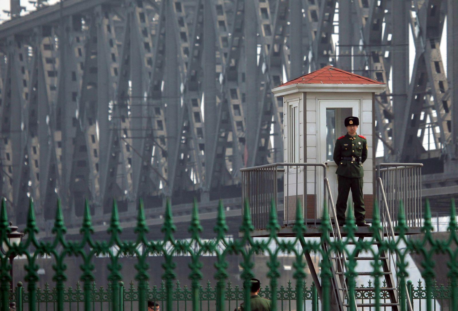 Nordkorea china grenze