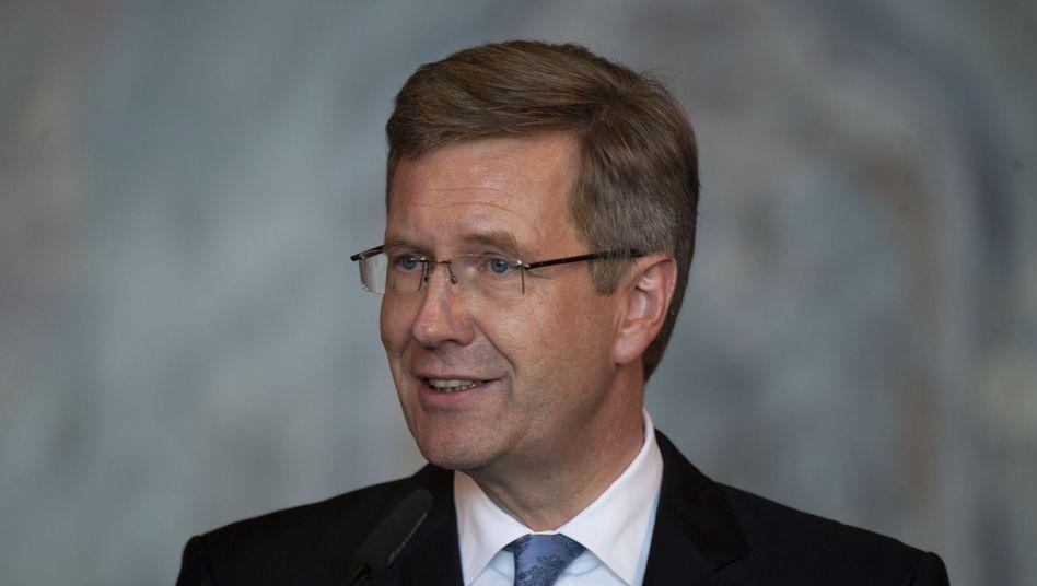 Bundespräsident Wulff: Gute Nachrichten von der Landesbank Baden-Württemberg