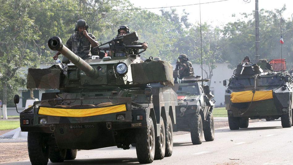 Elfenbeinküste: Soldaten nehmen Gbagbo in seinem Bunker fest