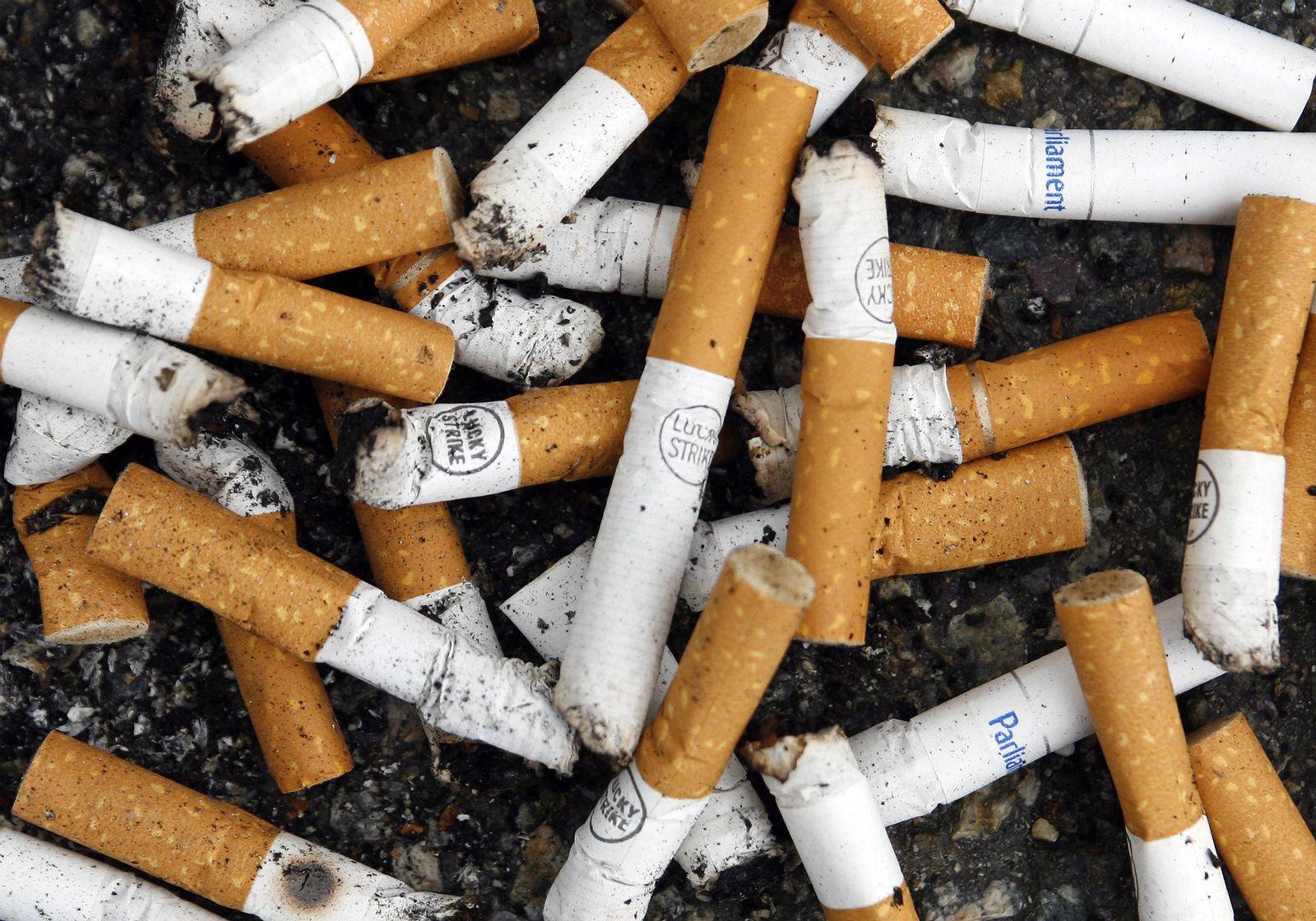 EINMALIGE VERWENDUNG Zigaretten