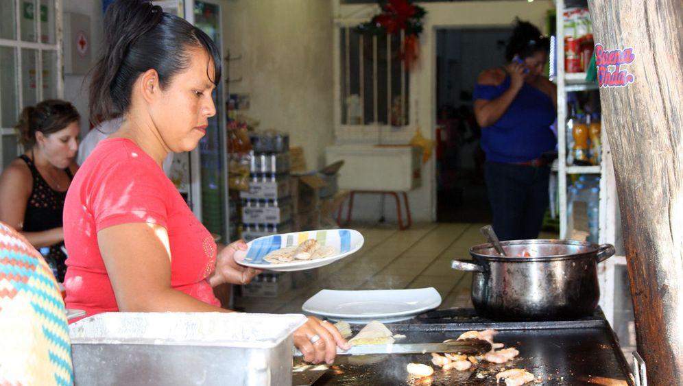 Mittagspause in Mexiko: Heiß und fettig