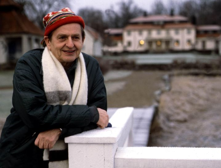 Olof Palme 1982 in Stockholm