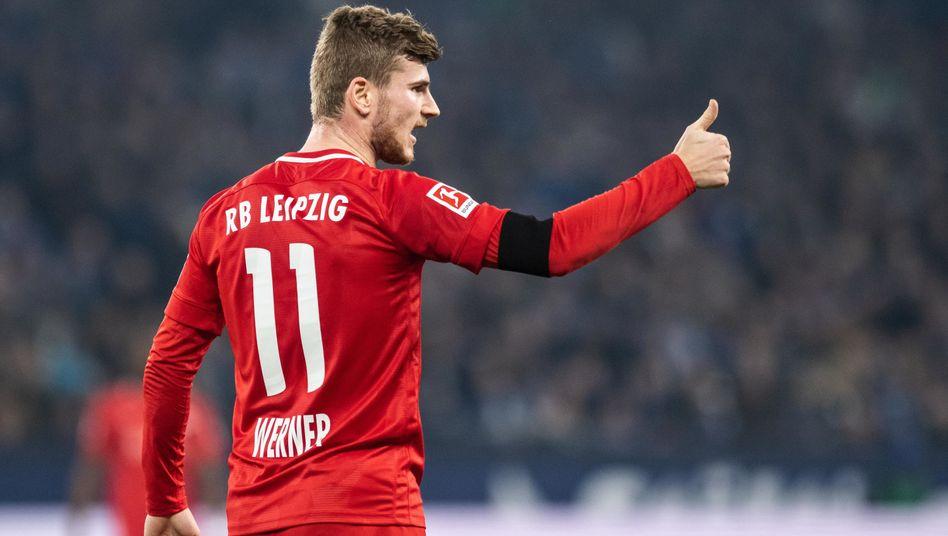 Leipziger Sieg auf Schalke: Im Schongang