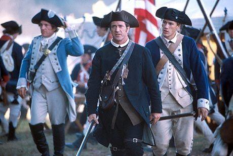 """Nationale Ehre trifft ritterliches Recht: Mel Gibson als """"Der Patriot"""""""