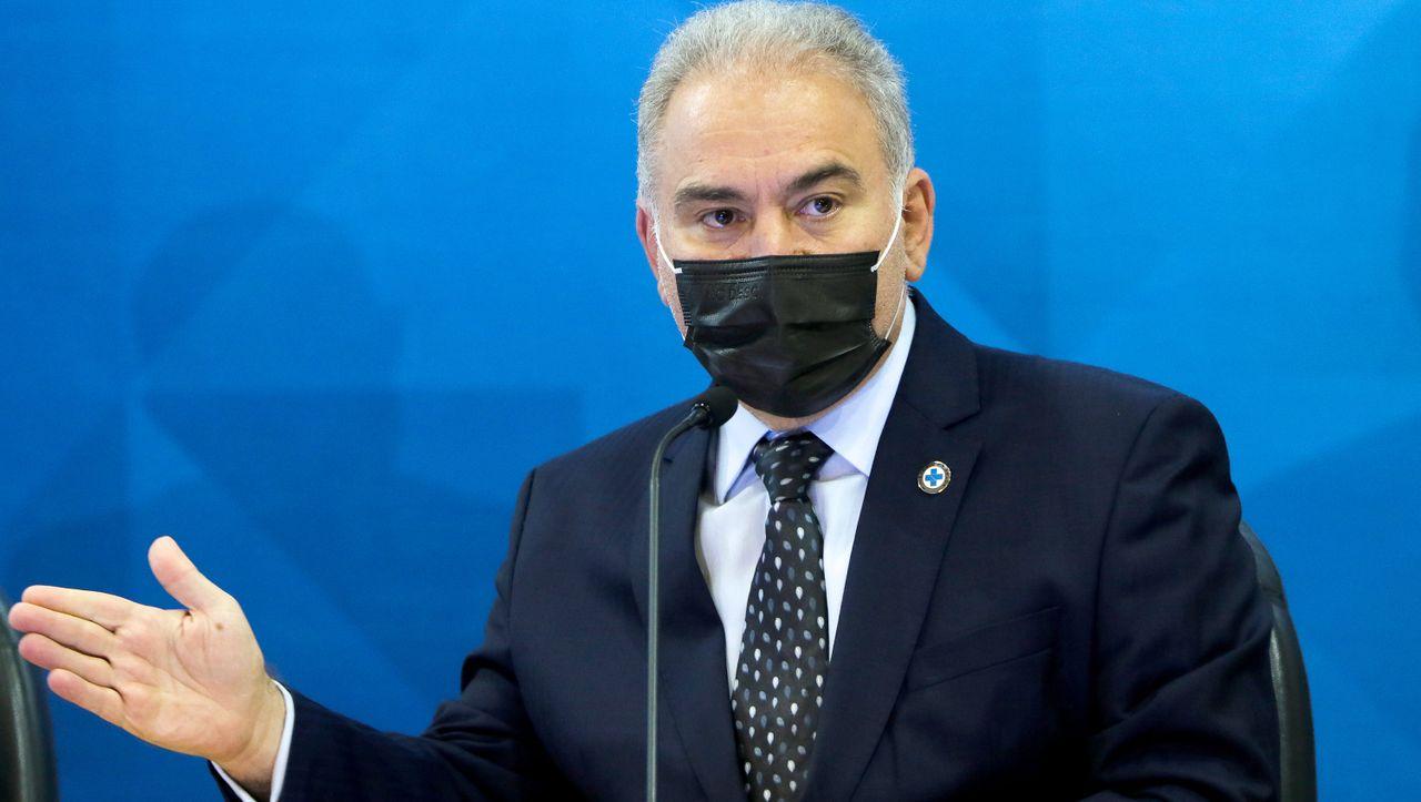 Beim Besuch der Uno: Brasiliens Gesundheitsminister positiv auf Corona getestet - DER SPIEGEL