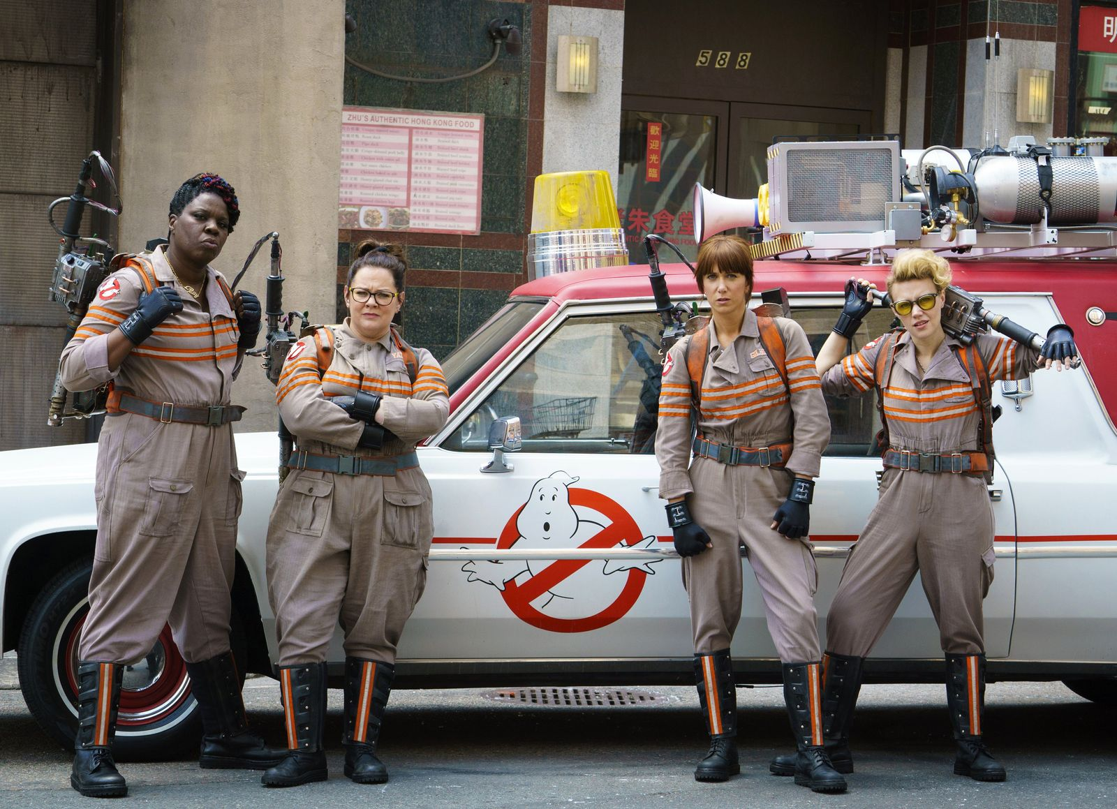 EINMALIGE VERWENDUNG Film-Ghostbusters Marketing
