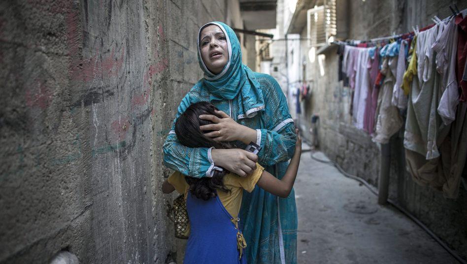 Trauer nach Explosion im Schati-Flüchtlingslager: Hamas und Israel beschuldigen sich gegenseitig