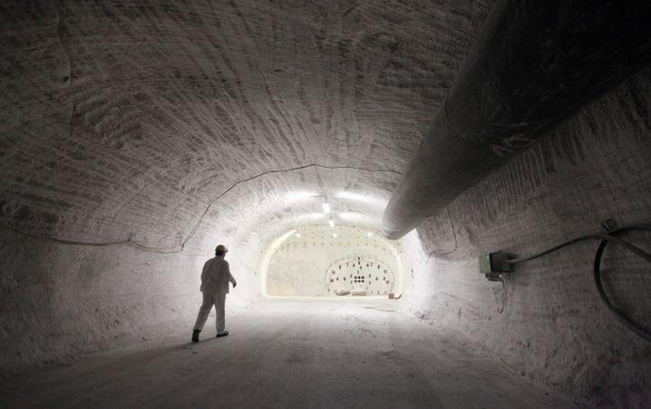 Erkundungsbergwerk Gorleben: Wie sicher ist das Salzgestein?