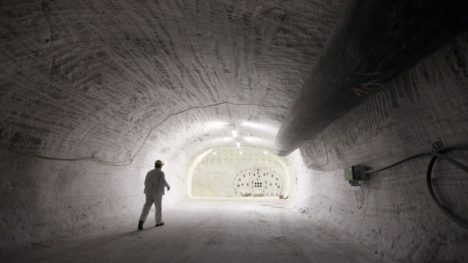 Gorleben: Stockende Erkundungen im Salzbergwerk