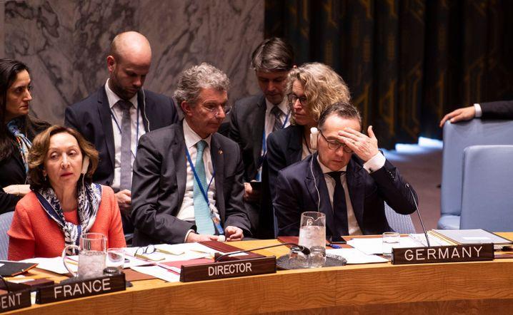 Heiko Maas im Uno-Sicherheitsrat