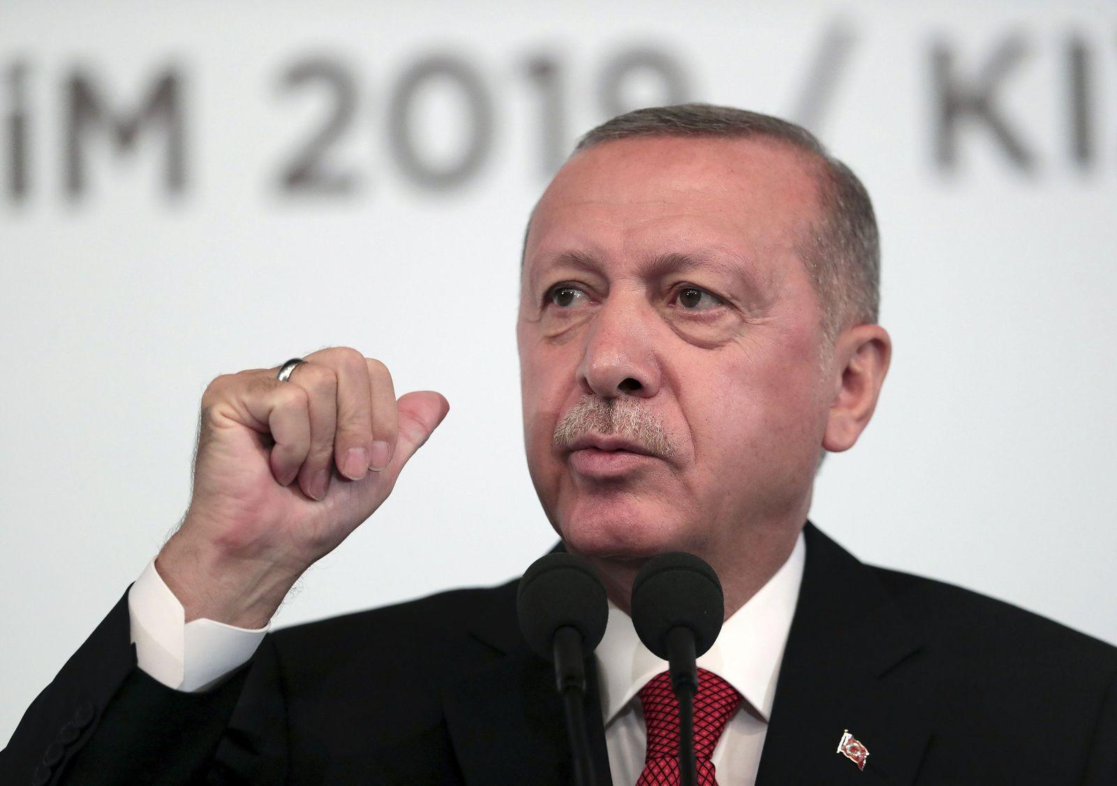 Erdogan Rede Ankara