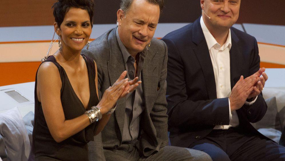 """""""Wetten, Dass..?"""": Tom Hanks über deutsches """"Hochqualitätsfernsehen"""""""
