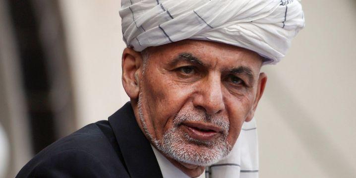 Geflüchteter Präsident Ghani