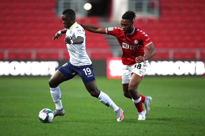 Ryan Sessegnon am Ball