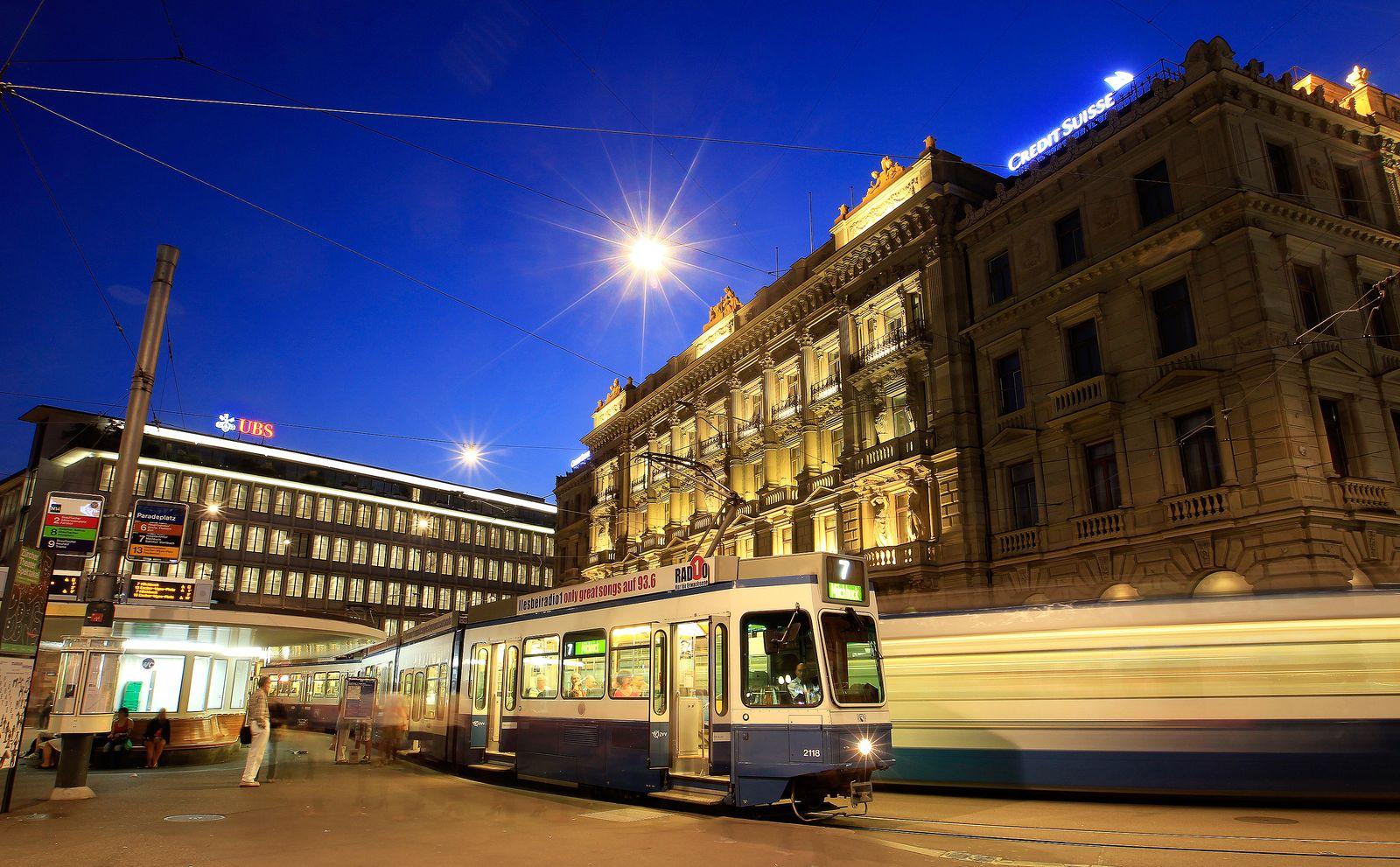 Schweiz / Zürich / Bankenviertel / Banken