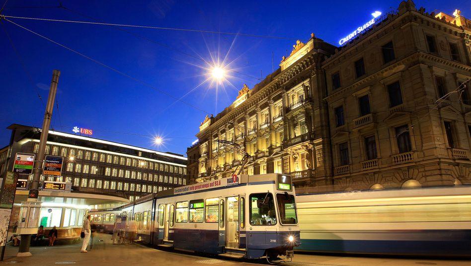 Bankenviertel in Zürich: Harte Zeiten für Hinterzieher