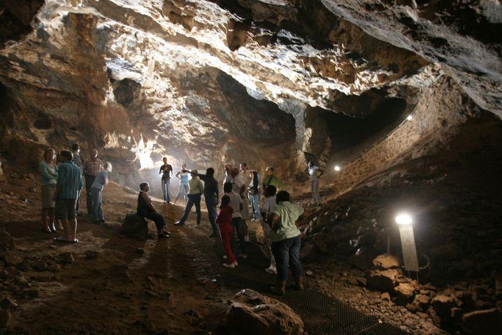 Führung durch die Sterkfontein-Höhlen