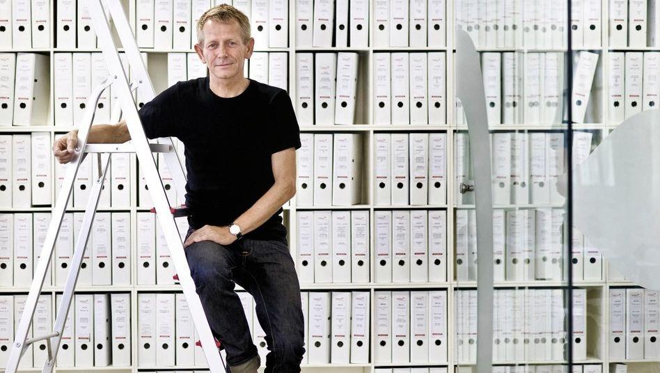 Investor Tækker in seinem Büro in Berlin-Kreuzberg: Kapitalist mit guten Manieren