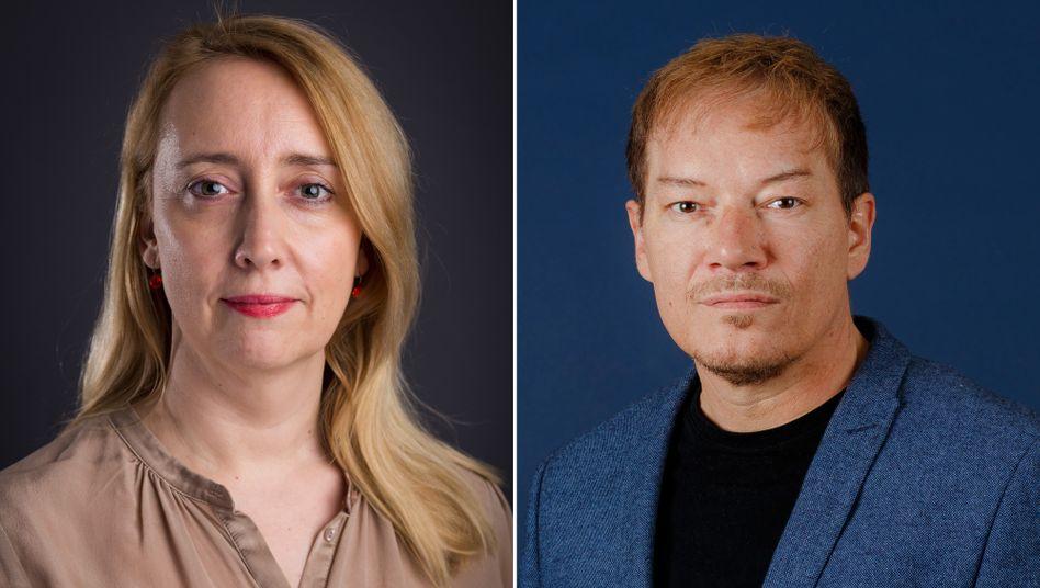 Neu in der SPIEGEL-Chefredaktion: Melanie Amann und Thorsten Dörting