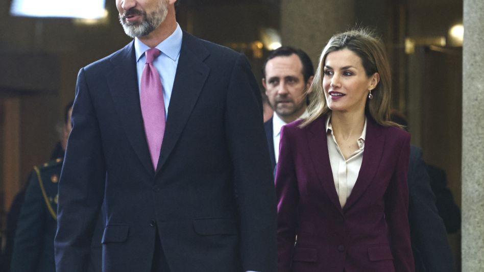 König Felipe VI. und Letizia: Weniger Gehalt für die königliche Familie
