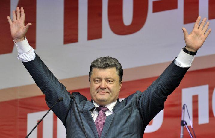 Präsidentschaftskandidat Poroschenko: Schlauer Taktiker