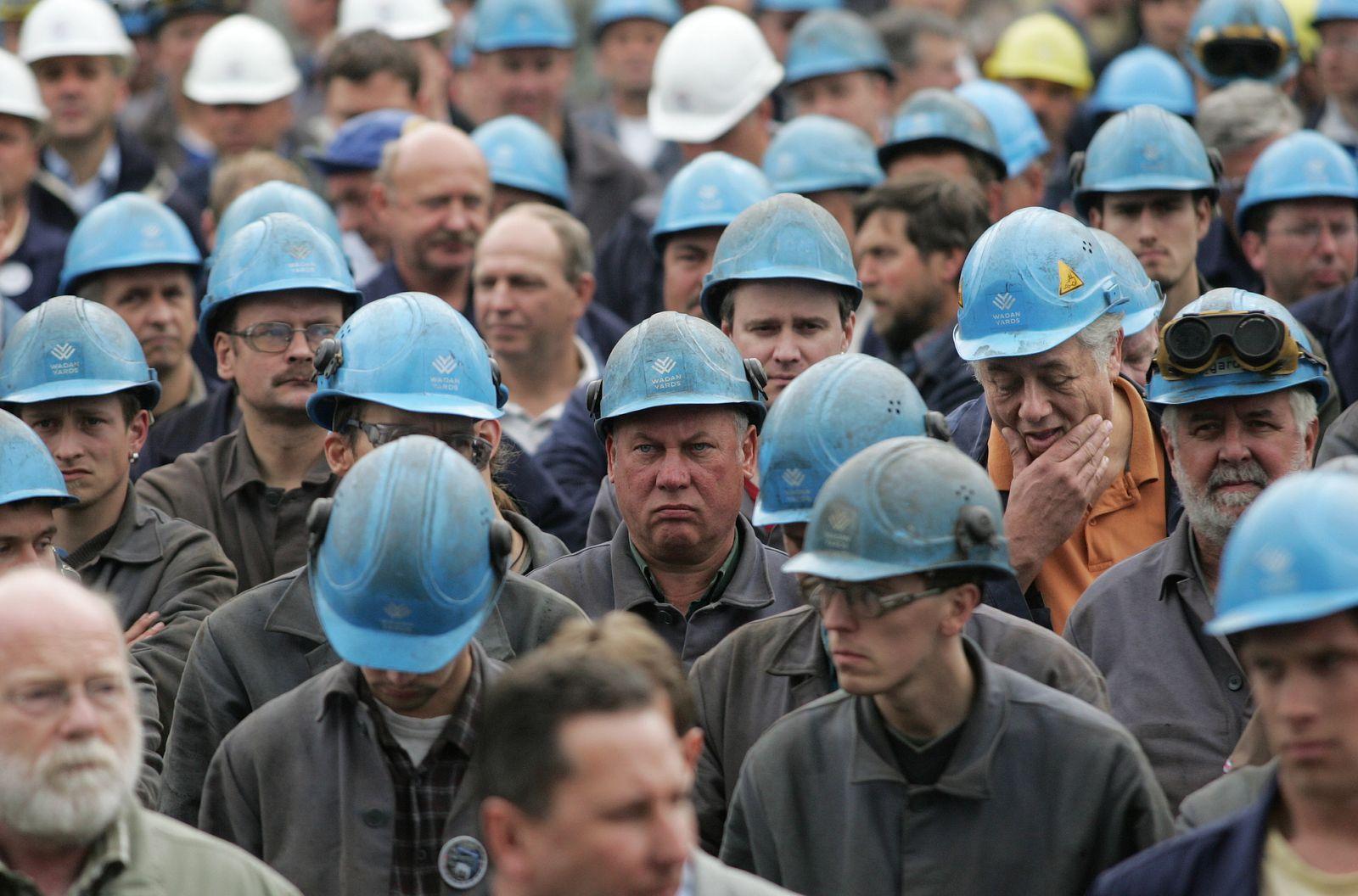 NICHT VERWENDEN Arbeitnehmer / Wadan-Mitarbeiter