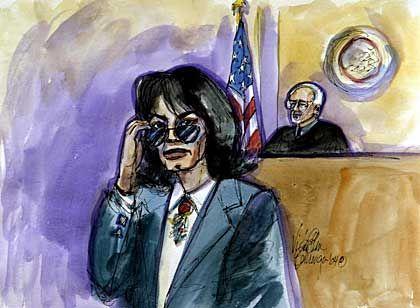 Michael Jackson vor Gericht: Ausschweifender Lebensstil