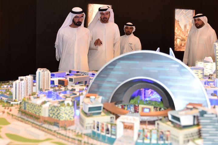 """""""Mall of the World""""-Modell: 4,5 Millionen Quadratmeter soll das Einkaufszentrum groß werden"""