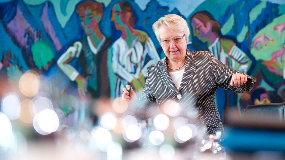 """Bundesbildungsministerin Annette Schavan: """"Forschungsprogramm ist auf der Zielgeraden"""""""