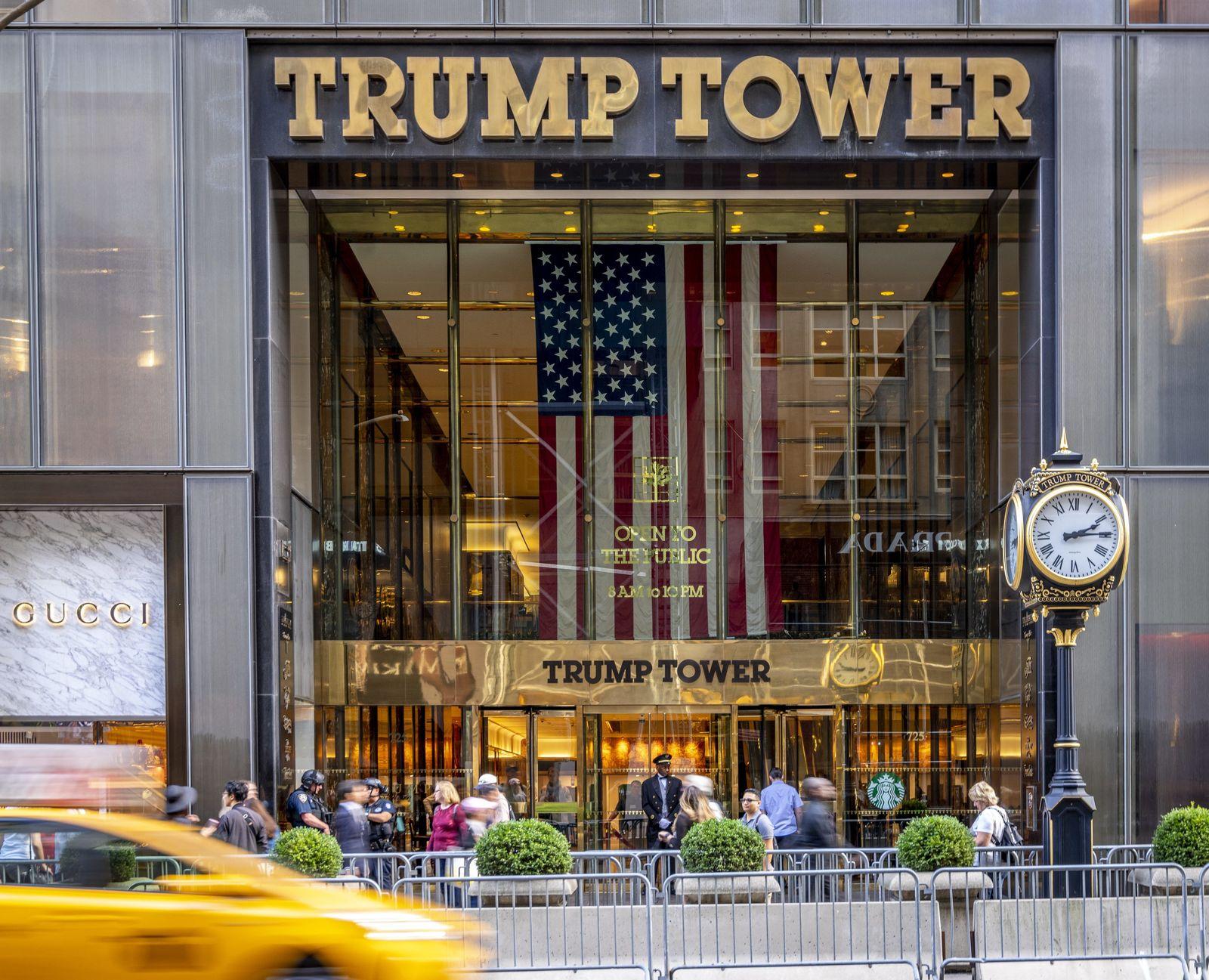 EINMALIGE VERWENDUNG Buch/ Trüb/ Trump Tower