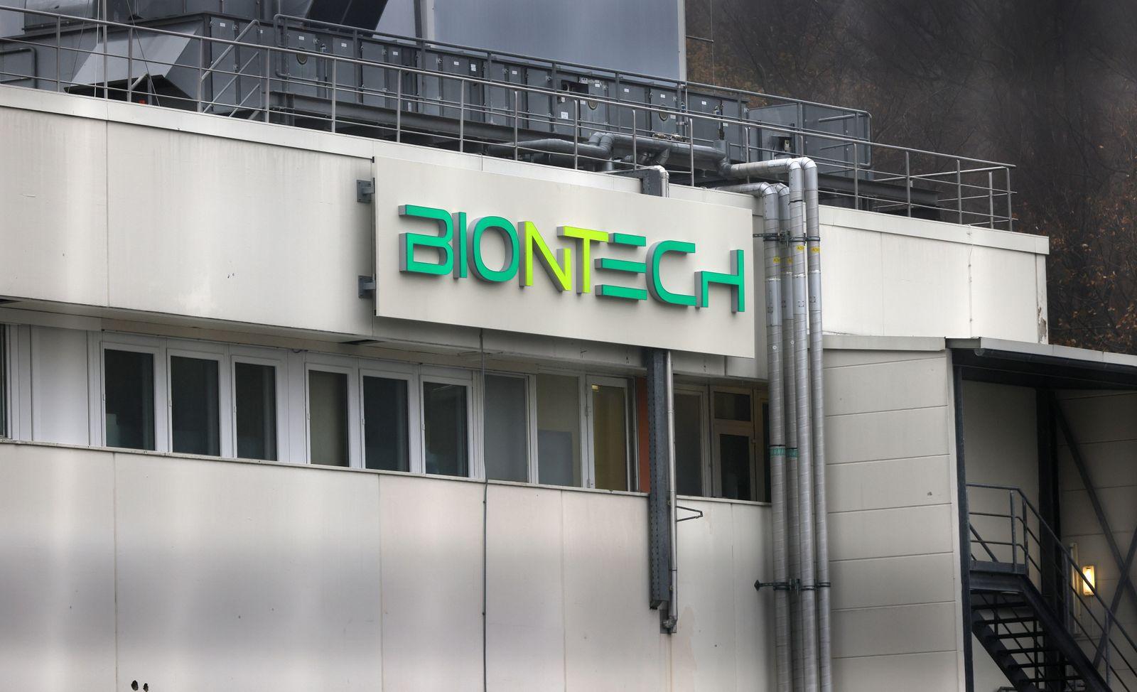 Coronavirus vaccine manufacturer BionTech in Marburg, Germany - 12 Nov 2020