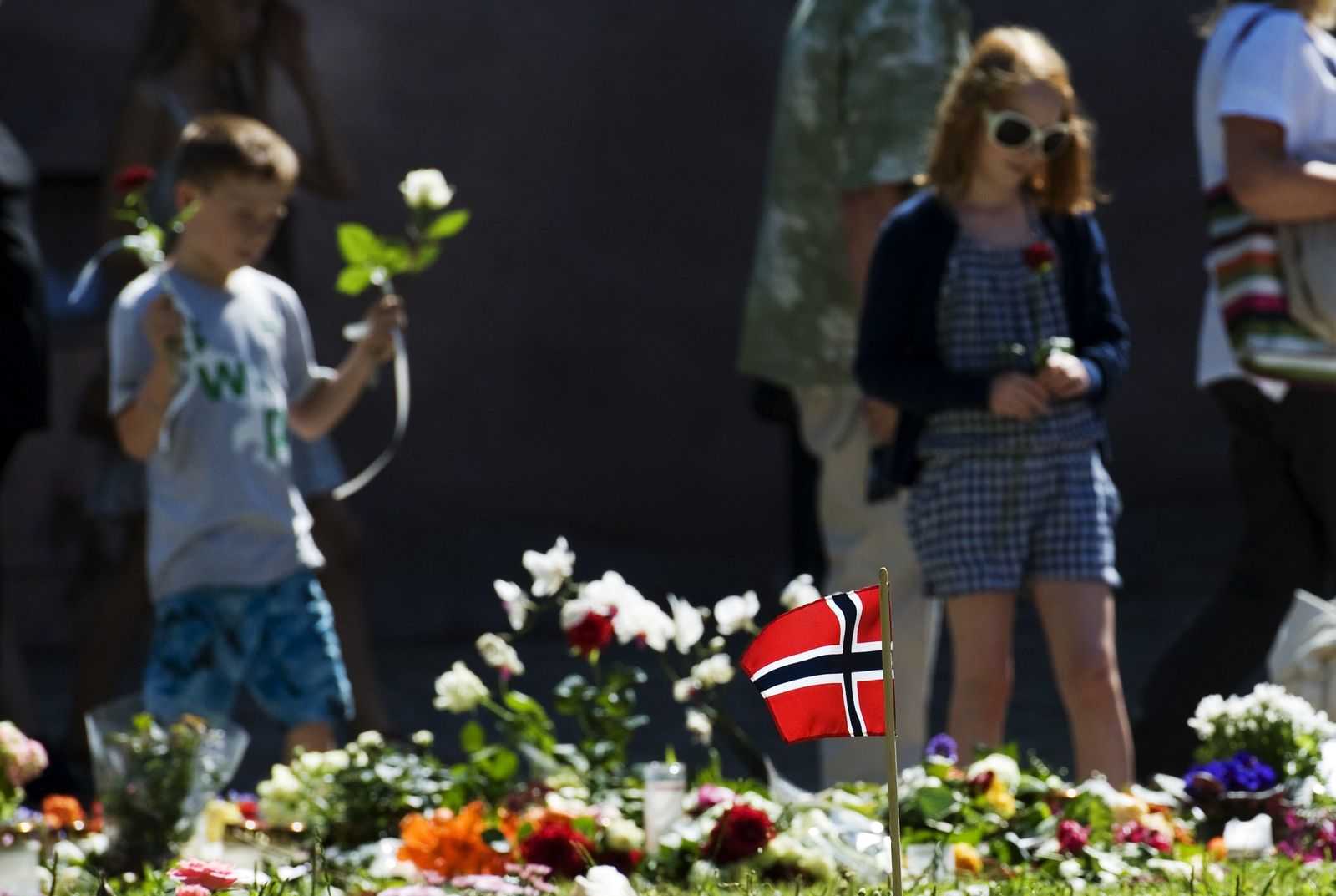 Norwegen Trauer