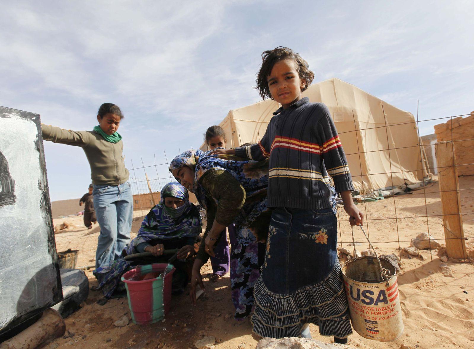 Flüchtlinge / Algerien