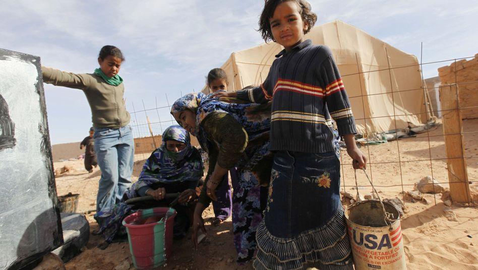 Sahara-Flüchtlinge im algerischen Tindouf (Archivbild) : Auf Schmugglerrouten nach Norden