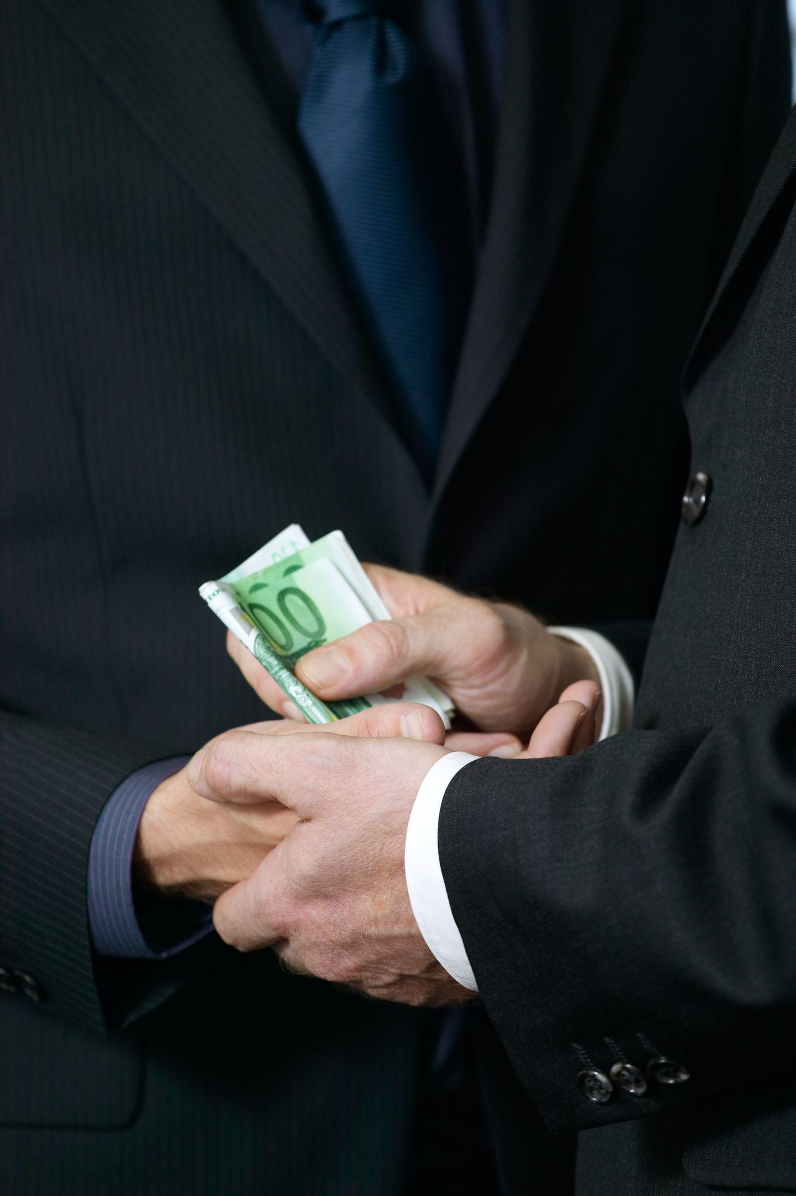 NICHT MEHR VERWENDEN! - Symbolbild Korruption