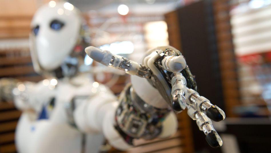 Roboter (Symbolbild): Sollen Elektronikfertigung teilweise automatisieren
