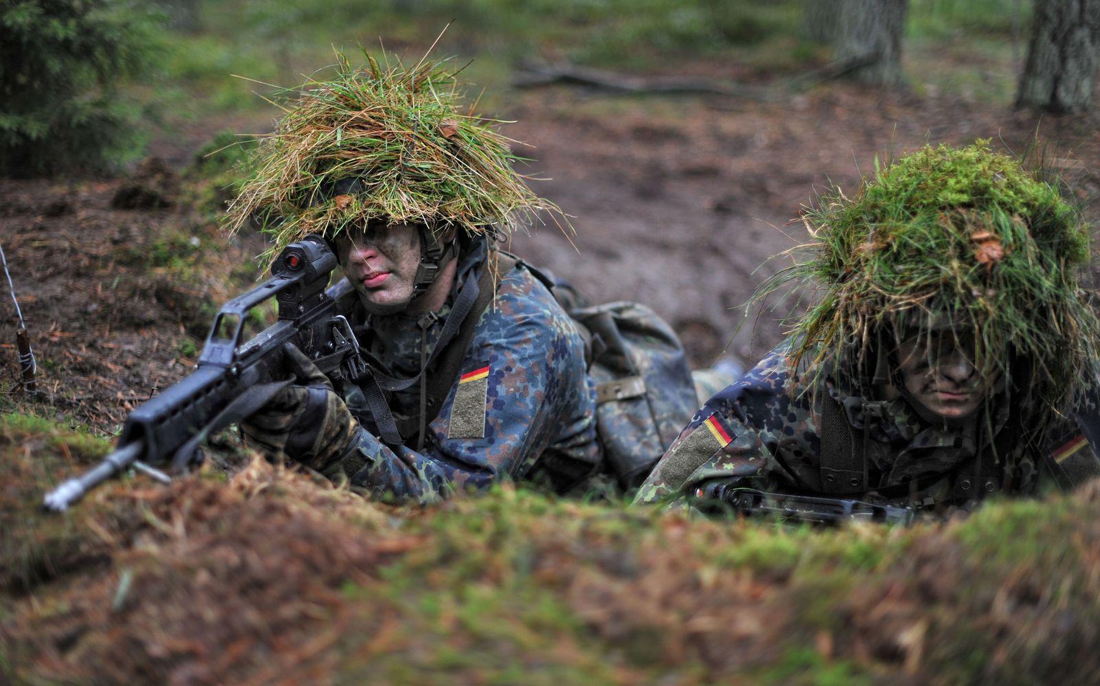 Wehrpflicht Rekruten Bundeswehr