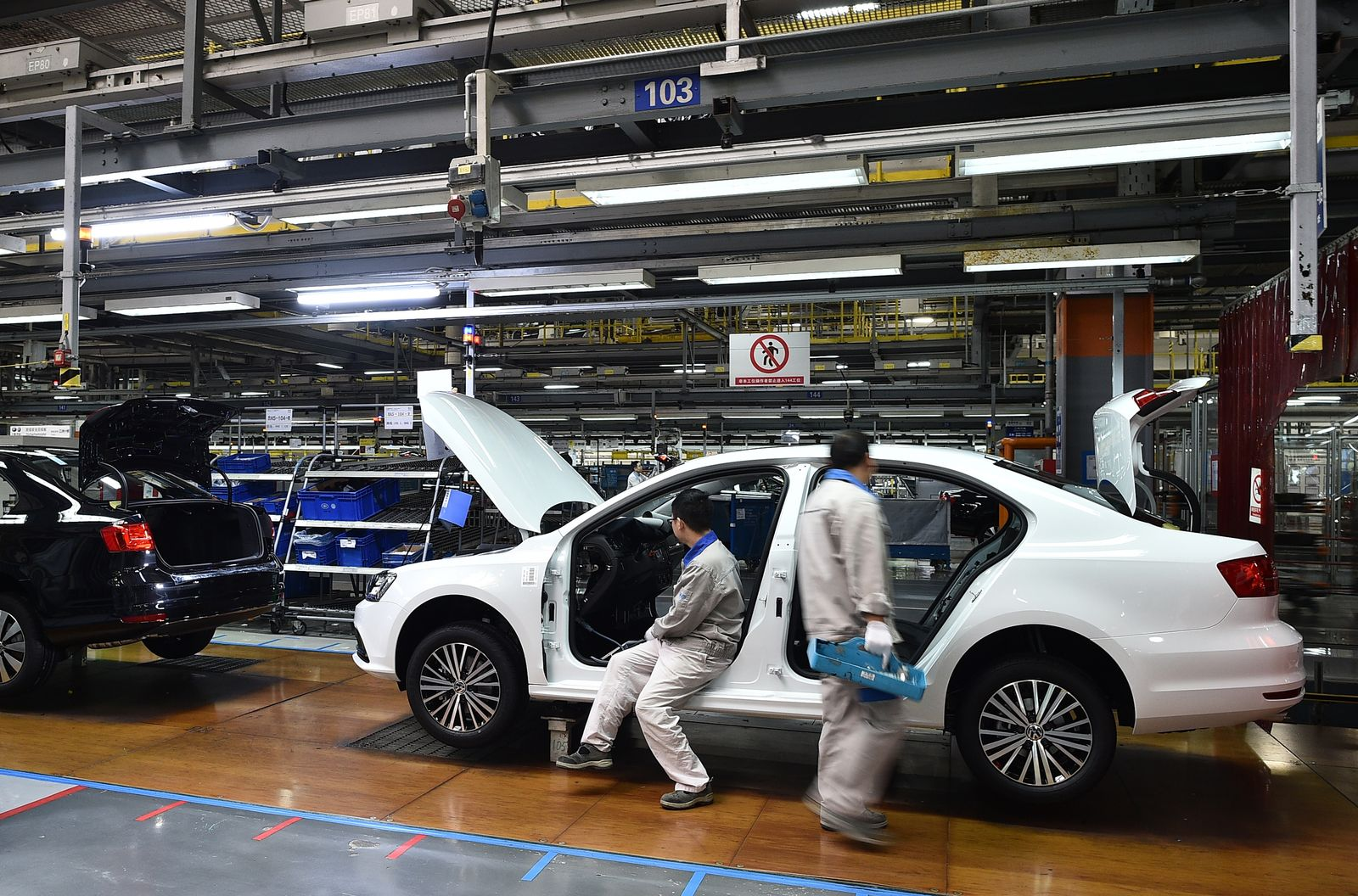 FAW-Volkswagen Produktion / China VW