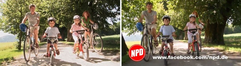 Oops: Germany's FDP party has a new campaign ad using the same footage as the right-wing extremist NPD's election spot.