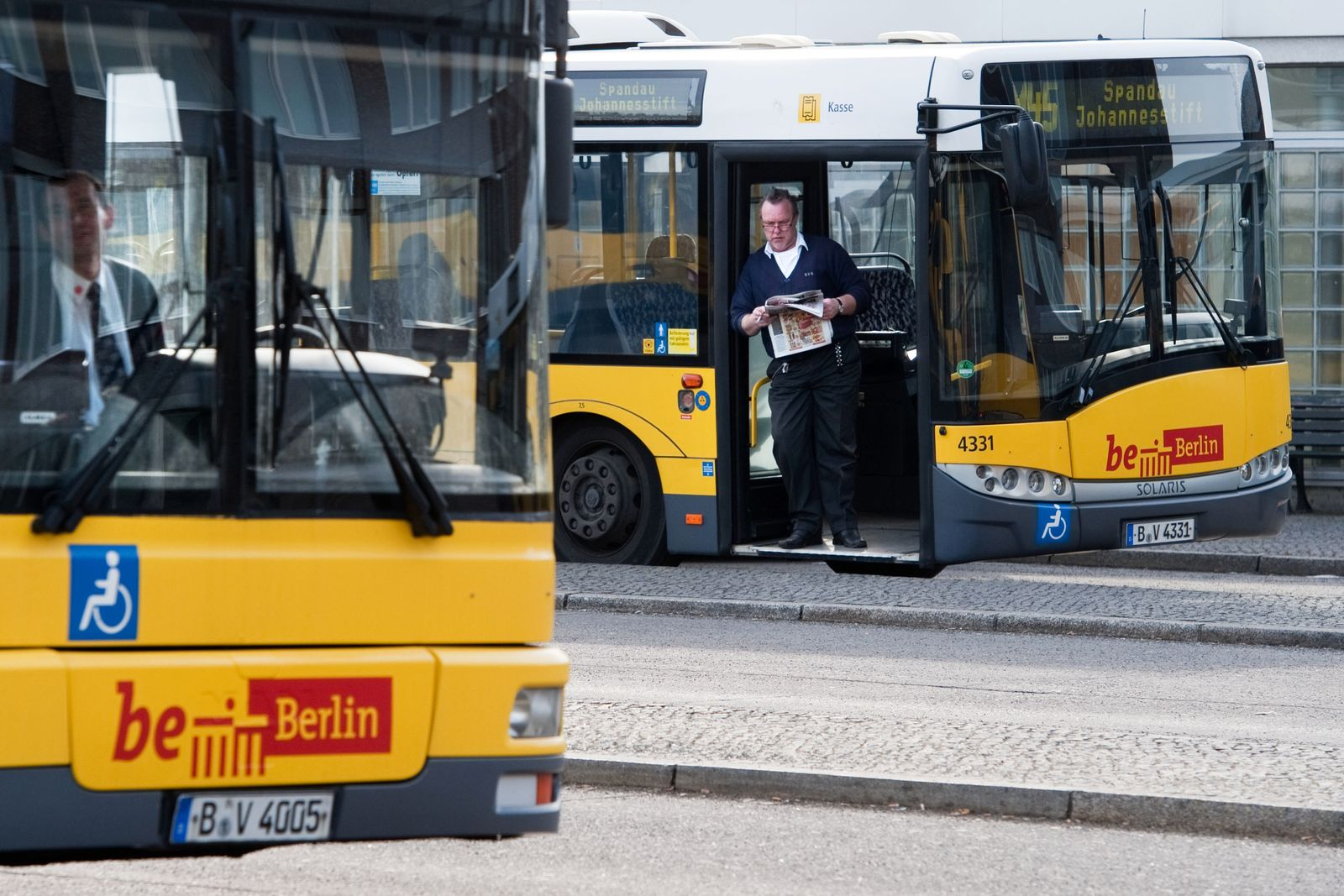 BVG Busfahrer