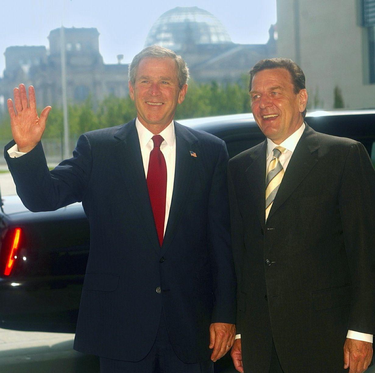 NICHT VERWENDEN Bush Schröder