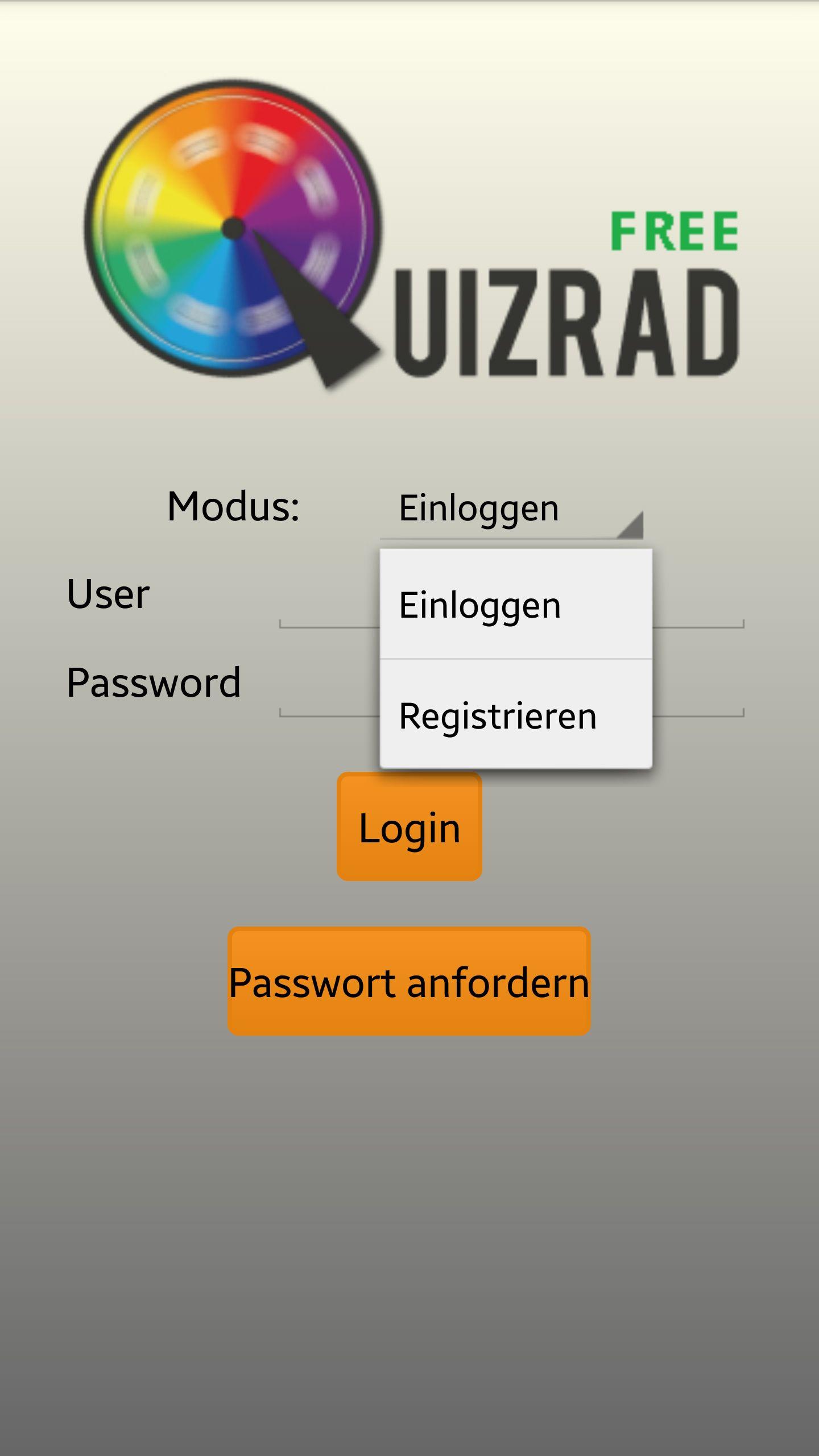 NUR ALS ZITAT Screenshot Quizrad